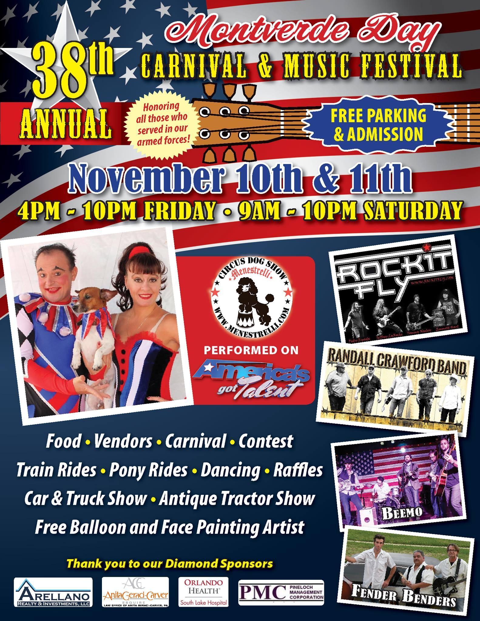 38th Annual Montverde Day Nov 10 & 11th