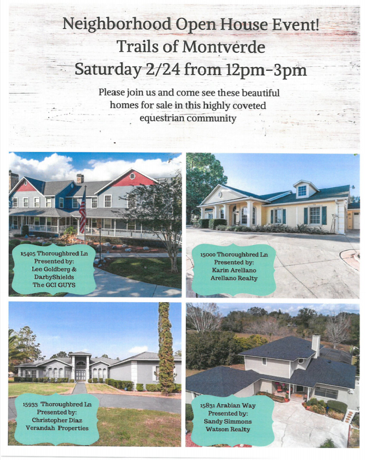 Neighborhood Open House